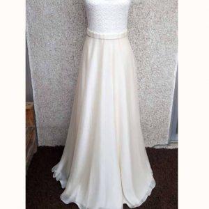 vestido novia encaje