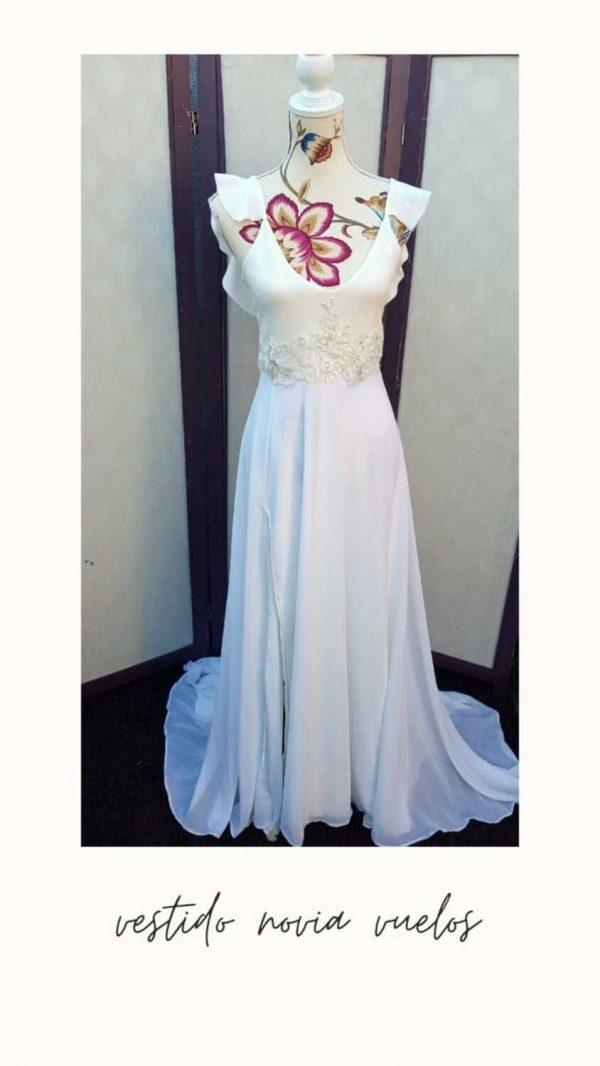 vestido novia velos