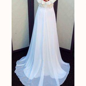vestido novia velos cola