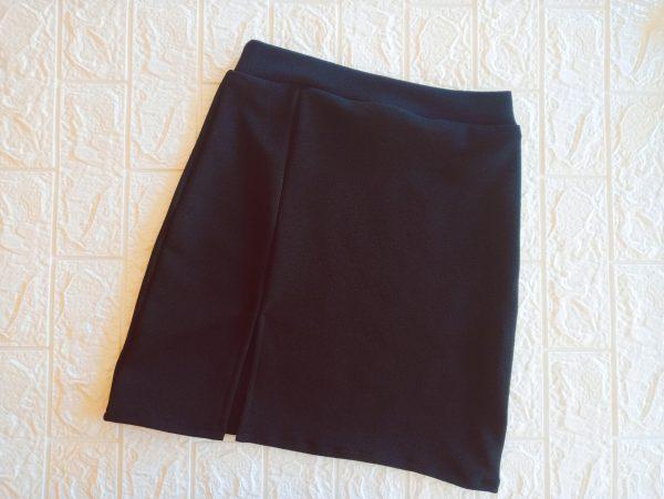 minifalda negro