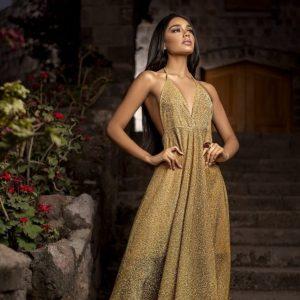 Vestido Dorado 💛